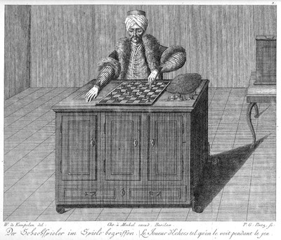 A chess computer -more than 250 years ago!